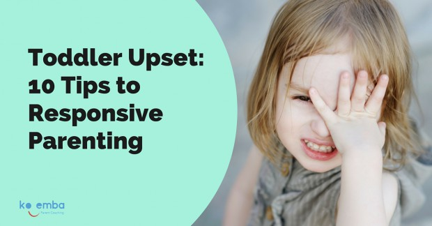 How to calm upset toddler