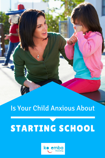 is your child anxious about starting school?