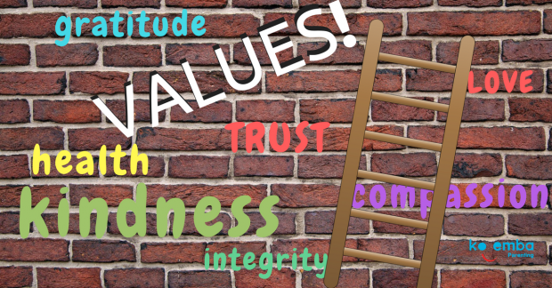 Values guide us to respectful and loving relationships