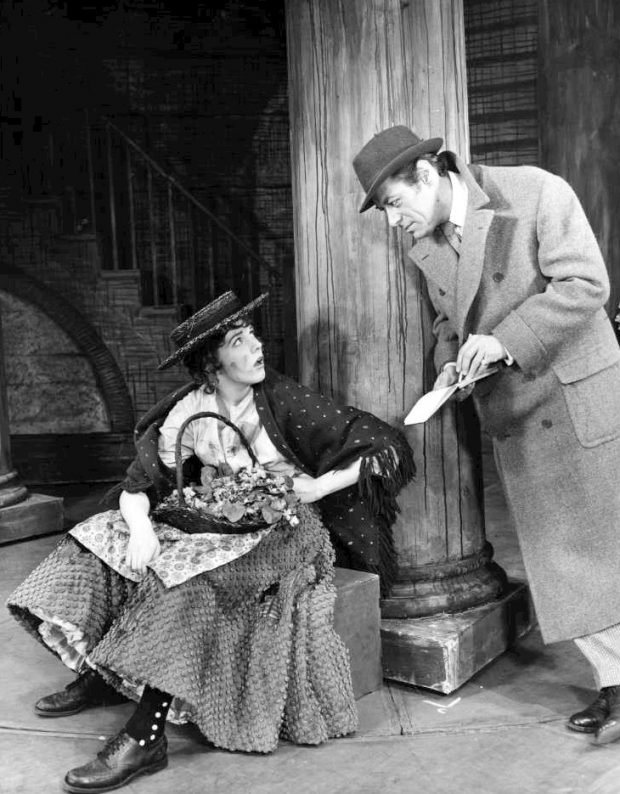 My Fair Lady - Eliza Doolittle with Henry Higgins