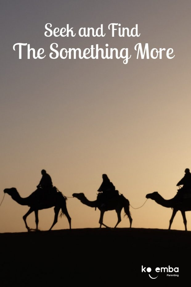 Three camels - seek and find Something More
